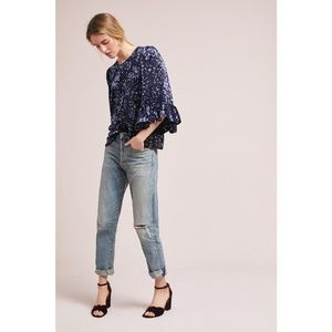 New Anthropologie Blouse by Samantha Dru  Small